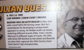 Julian Buesink's photo at the NASCAR Hall of Fame.