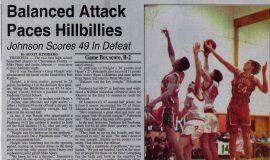 Balanced Attack Paces Hillbillies. December 17, 1993.