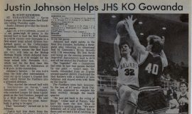 Justin Johnson Helps JHS KO Gowanda December 28, 1990.