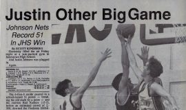 Justin Other Big Game. February 19, 1994.