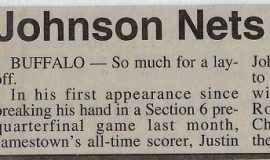 Johnson Nets 35 In McDonald's Game. March 27, 1994.