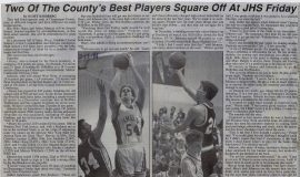 Two Of The County's Best Players Square Off At JHS Friday. February 17, 1994.