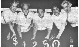 Women Bowlers Start Happiness Fund With $1250. November 25, 1965.