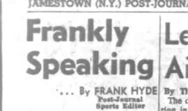Frankly Speaking. March 26, 1963.