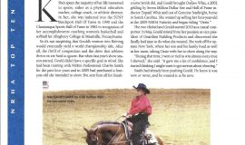 "NRHA Reiner magazine article: ""Kay Gould and Outlaw Whiz"" 2011 NRHA World Champion page 1"