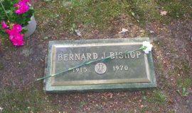 Ben Bishop's gravesite.