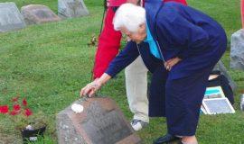 Joe Nagle's gravesite.