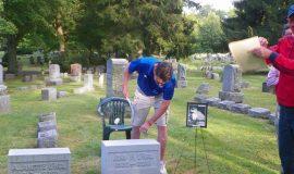 John O'Neil's gravesite.