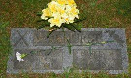 Lyle Parkhurst's gravesite.
