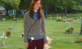 Sonya Anderson, flower girl.