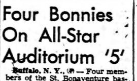 Four Bonnies On All-Star Auditorium '5'.  March 12, 1952.