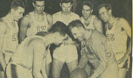 Bonnies Vs. Johnnies. February 14, 1952.