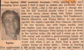 I Remember. <em>Post-Journal</em> (Jamestown), October 10, 1959.