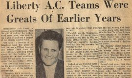 Liberty A.C  Teams Were Greats Of Earlier Years