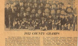 1932 County Champs