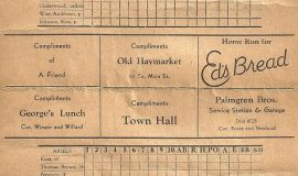 1938 scorecard