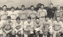 The 1943 Vikings included four CSHOF inductees.