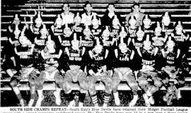 South Side Champs Repeat. October 22, 1959.