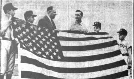 Little Leaguers Get New Flag. May 15, 1961.