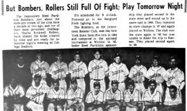But Bombers, Rollers Still Full Of Fight; Play Tomorrow Night. July 14, 1964.