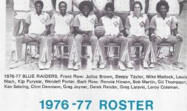 Middle Tennessee State University program, 1976-77.