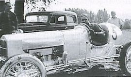 Lloyd Moore with one of his first Penny Royal cars.