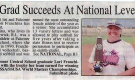 1990 Falconer Grad Succeeds At National Level. Page 1.  2014.
