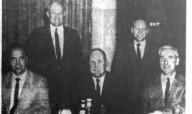 Head Officials. March 20, 1962.