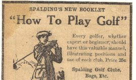 Collins Sport Shop ad 1921