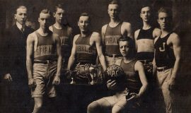 Spirals basketball 1914-15