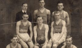 Spirals basketball 1916-17