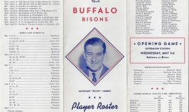 1944 Buffalo Bisons front