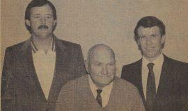 Umpires Association's Officers. October 18, 1985