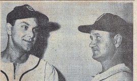 Lyle Parkhurst, left, and Lyal Nelson, May 6, 1953