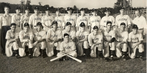 1945 Jamestown Falcons baseball team.