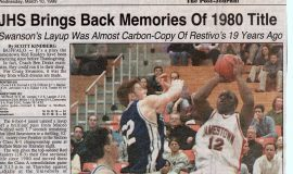 JHS Brings Back Memories Of 1980 Title. March 10, 1999.
