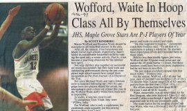 Wofford, Waite In Hoop Class All By Themselves. 1997.