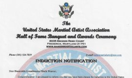 United States Martial Artists Association.