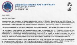 United States Martial Arts Hall of Fame.