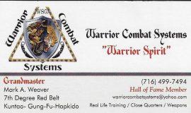 Mark Weaver's business card.