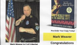 <em>Martial Arts  Masters & Pioneers</em> promotion.