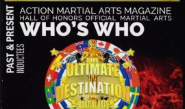 <em>Action Martial Arts Magazine Who's Who</em> cover.