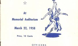 1958 Section 6 program cover