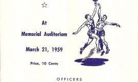 1959 Section 6 program cover