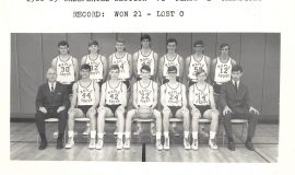 Maple Grove basketball team,  1968-69