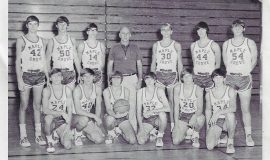 Maple Grove basketball team, 1972.
