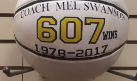 Mel Swanson finished his girls coaching career with 607 victories.