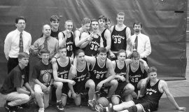 1994 Fredonia Central School basketbal lteam.