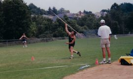 Michael Sayers - javelin throw.