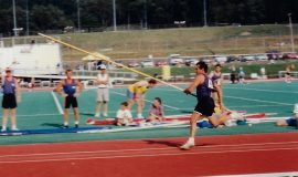 Michael Sayers -pole vault.